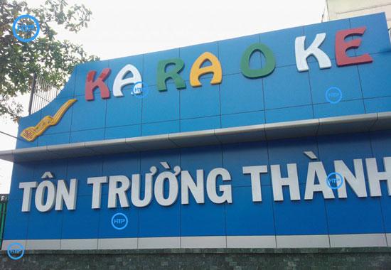 Dịch vụ sửa chữa bảng hiệu