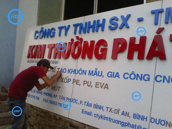 Sửa chữa bảng hiệu giá rẻ