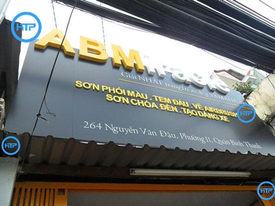 Sửa chữa bảng hiệu Hồng Tâm Phát